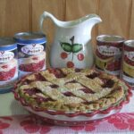 King Orchards Montmorency tart cherries in water and Montmorency cherry pie filling with Montmorency tart cherry pie